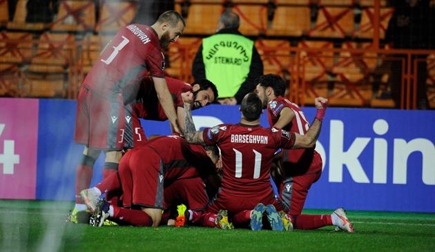 Armenia - bất ngờ lớn nhất tại vòng loại World Cup 2022 - Bóng Đá