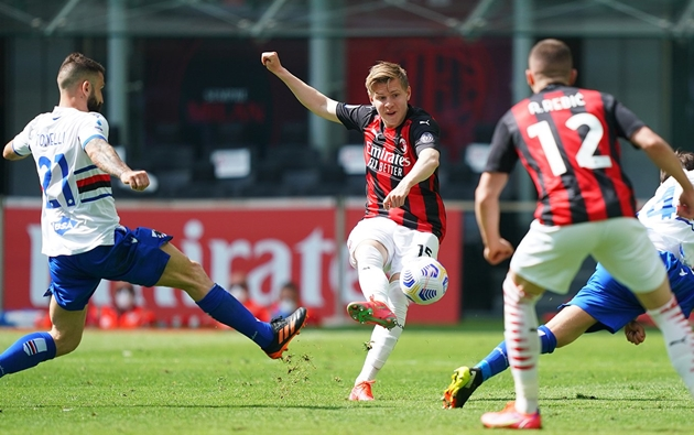 Milan - Sampdoria - Bóng Đá