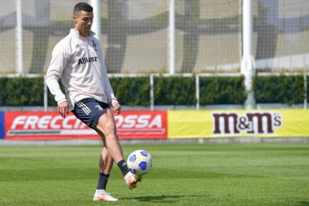 Ronaldo tập - Bóng Đá