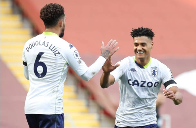 TRỰC TIẾP Liverpool 0-1 Aston Villa (H1):
