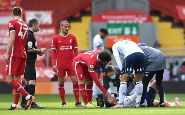 TRỰC TIẾP Liverpool 1-1 Aston Villa (H2): Salah gỡ hòa - Bóng Đá