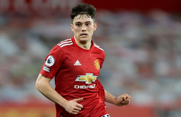 Luke Shaw admits Daniel James is the fastest player at Manchester United - Bóng Đá
