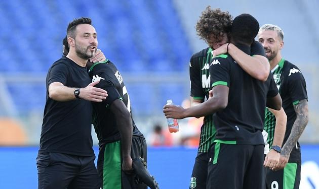 De Zerbi từ chối đối đầu với AC Milan - Bóng Đá