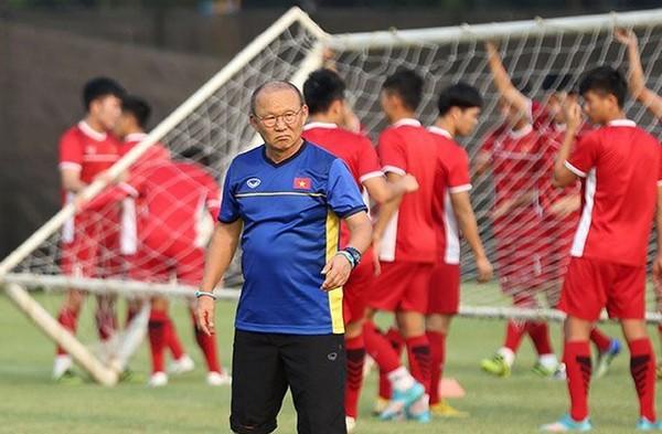 HLV Park Hang-seo lên danh sách sơ bộ U23 Việt Nam - Bóng Đá