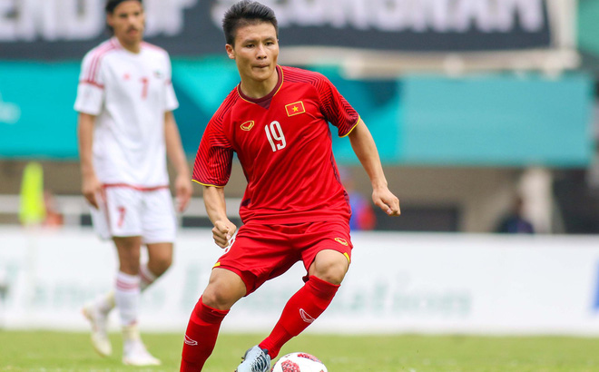 Quang Hải được lọt vào đội hình tiêu biểu ở ASIAD 2018.