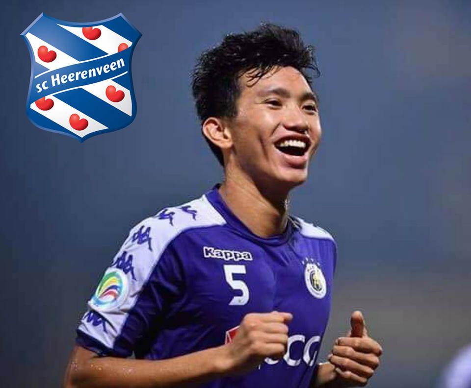 Tiết lộ số tiền cực khủng để CLB SC Heerenveen mượn được Văn Hậu - Bóng Đá