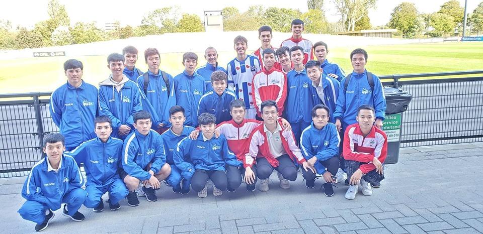 U18 HAGL JMG nhận thất bại đậm ở trận giao hữu cuối cùng tại Hà Lan - Bóng Đá