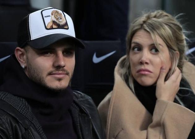 Vợ Mauro Icardi khẳng định chồng vẫn hạnh phúc ở Inter Milan - Bóng Đá