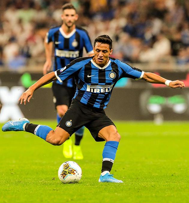 SANCHEZ ra mắt Inter (ẢNH) - Bóng Đá