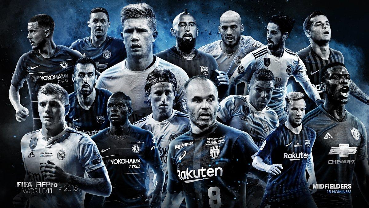 FIFA và FIFPro công bố ứng viên cho đội hình tiêu biểu - Bóng Đá