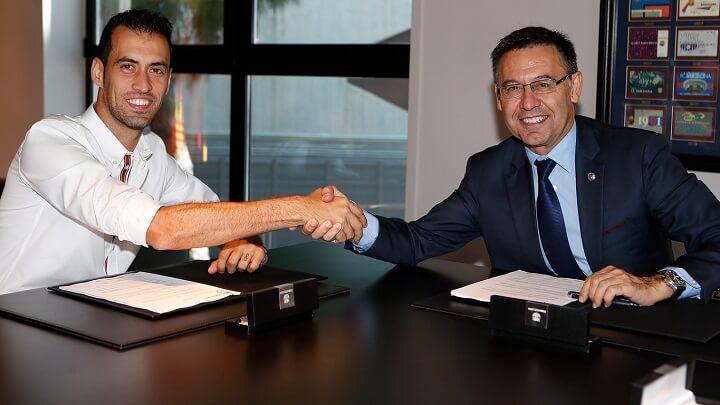 Barca chính thức trói chân thành công Busquets - Bóng Đá
