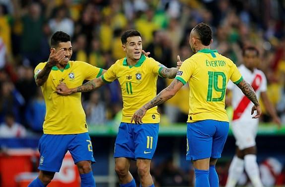 TRỰC TIẾP Brazil 1-0 Peru: Everton mở tỷ số (H1) - Bóng Đá