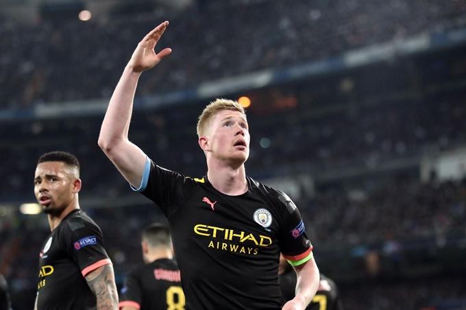 Man City gia hạn với De Bruyne - Bóng Đá