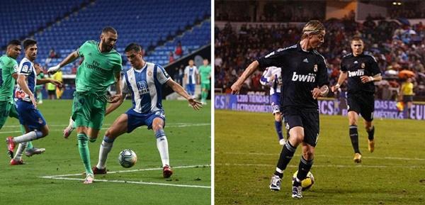 Benzema tái hiện cú giật gót kinh điển của Guti, Real gieo rắc nỗi buồn cho xứ Catalunya - Bóng Đá