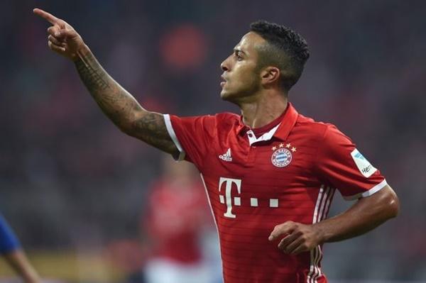 Man Utd đưa Thiago Alcantara vào tầm ngắm - Bóng Đá