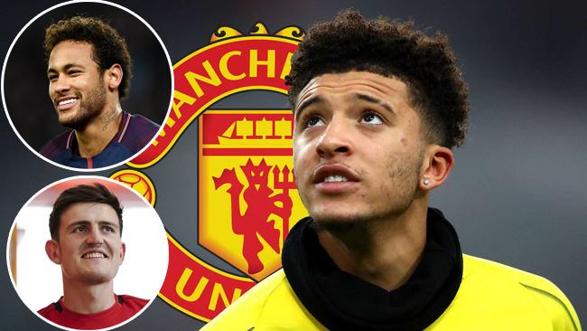 """Jadon Sancho sao chép """"công thức"""" của Neymar, Harry Maguire trước khi gia nhập M.U?"""