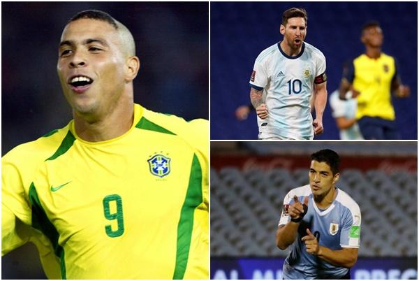 Messi, Suarez cân bằng kỷ lục của Ronaldo - Bóng Đá