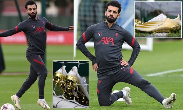 Mohamed Salah mang giày mới - Bóng Đá