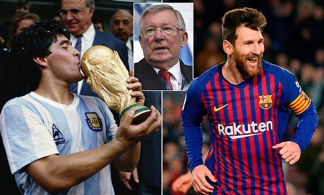 Maradona và Messi ai xuất sắc hơn, Sir Alex có câu trả lời - Bóng Đá