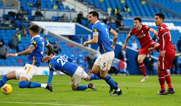 TRỰC TIẾP Brighton 0-1 Liverpool: The Kop có bàn mở tỷ số (H2) - Bóng Đá