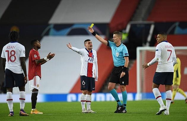 Man Utd boss Ole Gunnar Solskjaer's three-word instruction to Fred at half-time vs PSG - Bóng Đá
