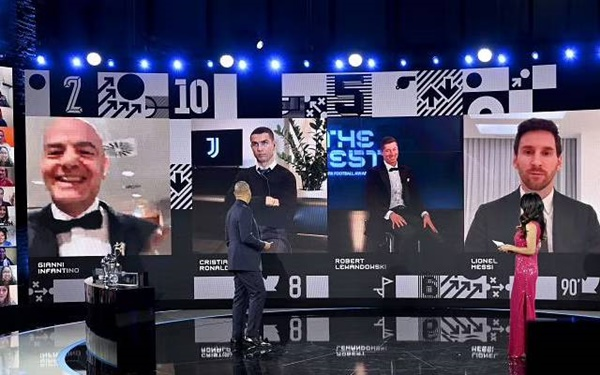 Lionel Messi fuels transfer speculation at The Best FIFA Football Awards - Bóng Đá