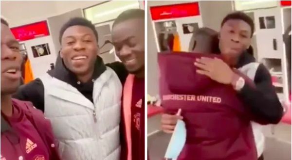 Manchester United stars Paul Pogba and Eric Bailly say emotional goodbye to Timothy Fosu-Mensah - Bóng Đá