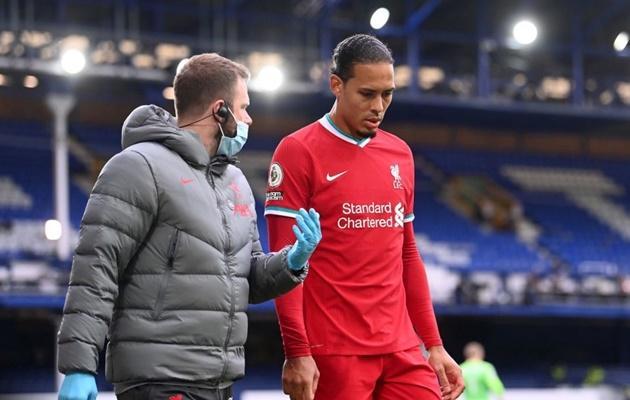 Klopp cập nhật về chấn thương của Van Dijk - Bóng Đá