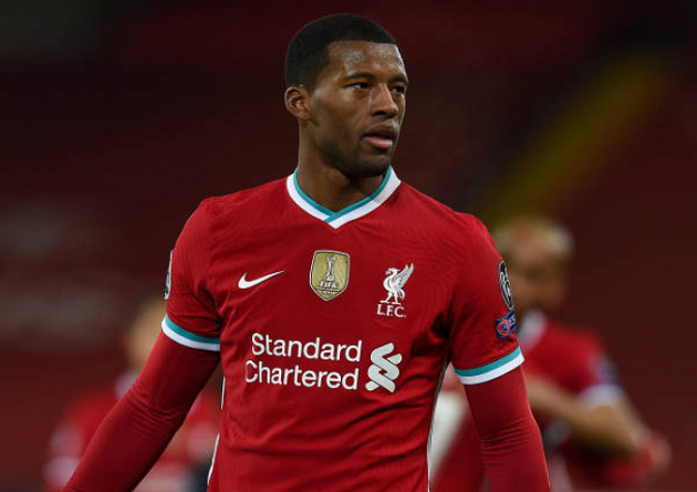 Georginio Wijnaldum edges closer to Barca as he refuses to give update on Liverpool renewal - Bóng Đá