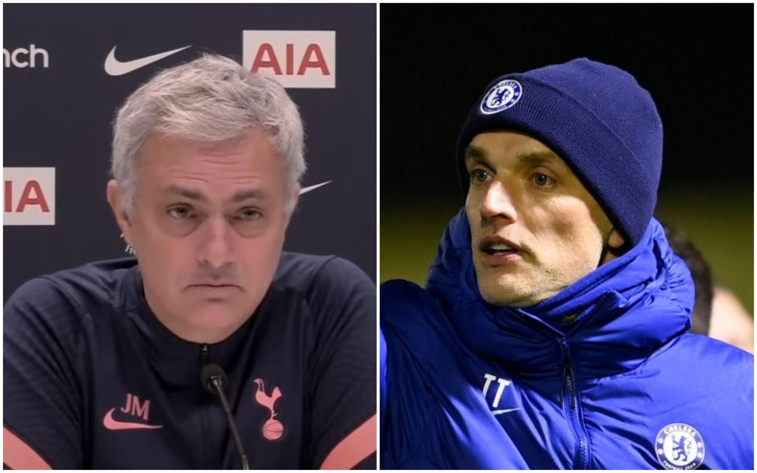 Mourinho cảnh báo Tuchel - Bóng Đá