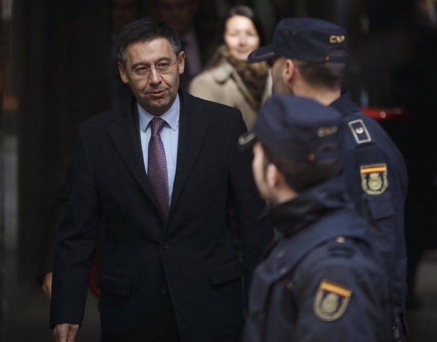 Barca hợp tác với cảnh sát - Bóng Đá