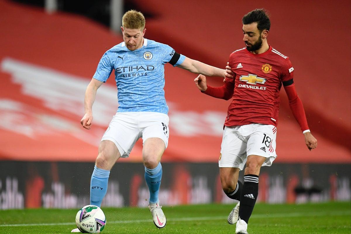 Michael Owen reveals his prediction for Man City v Man United - Bóng Đá