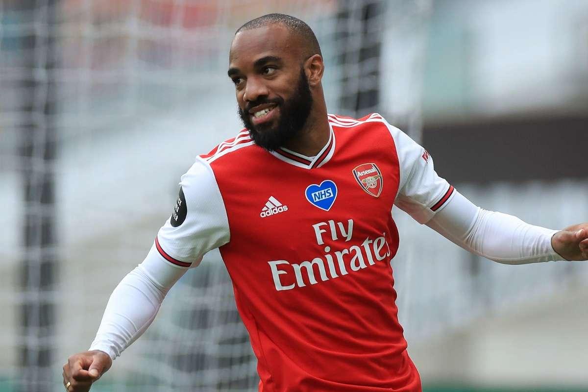 Arsenal xác định 2 cái tên thay Lacazette - Bóng Đá