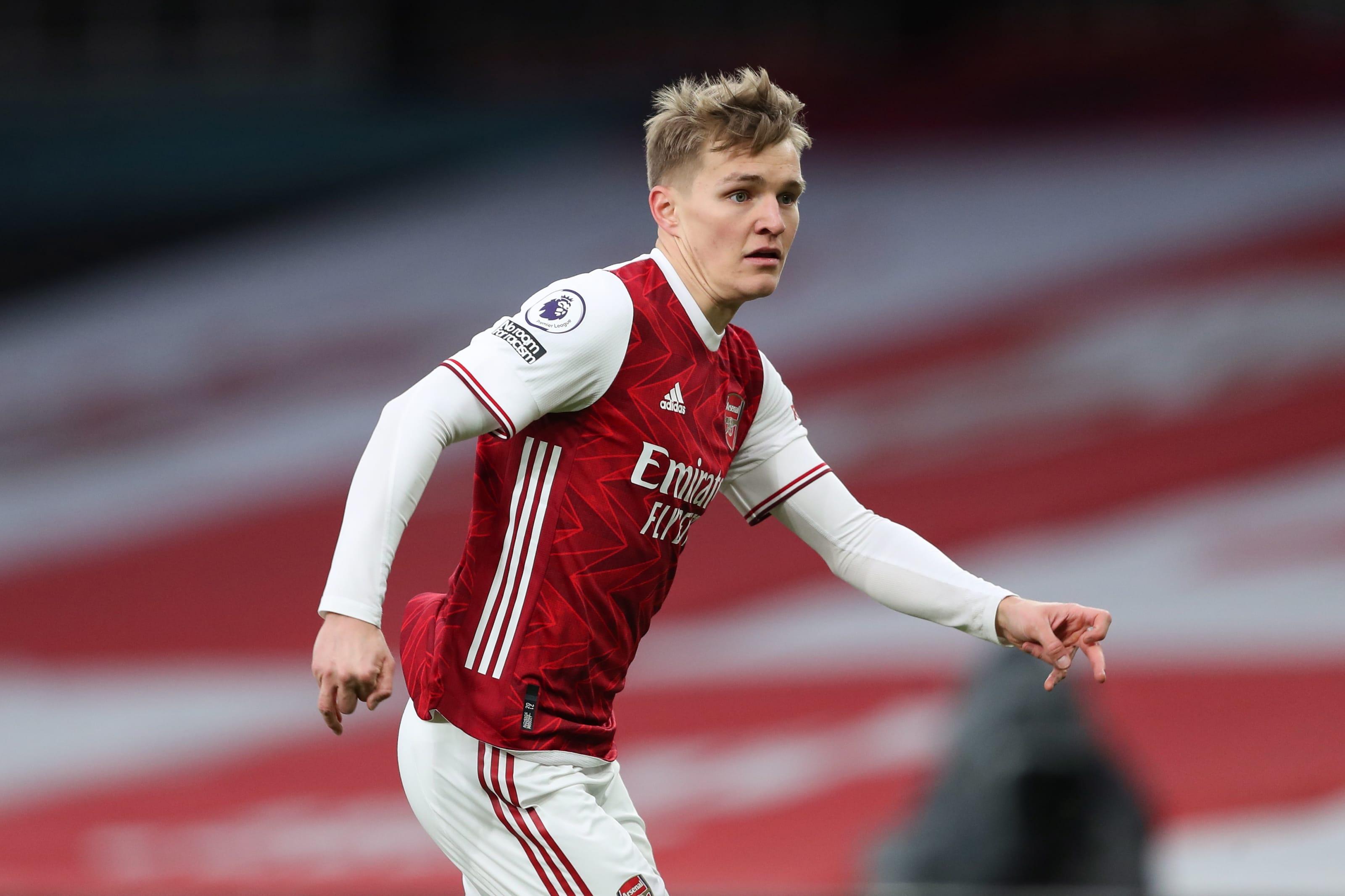 Arsenal have £50m transfer fear as discount Martin Odegaard alternative emerges - Bóng Đá