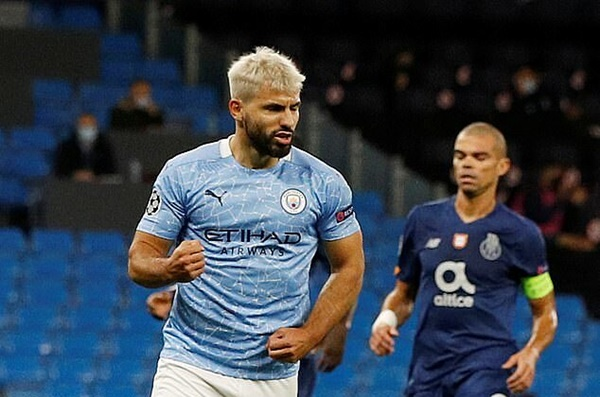 Sergio Aguero could get his dream shirt number if Chelsea complete free transfer - Bóng Đá