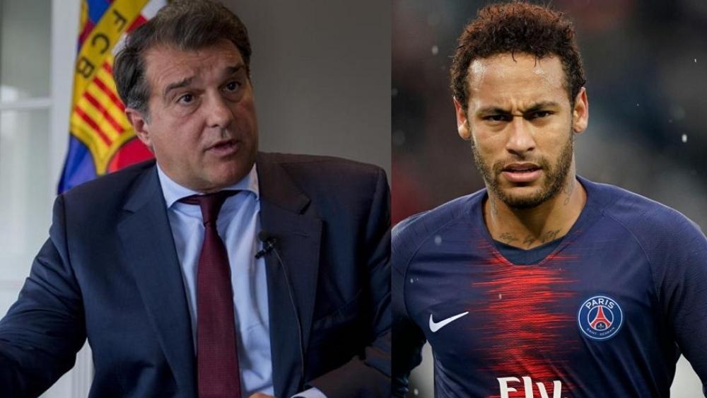 Barcelona chief Joan Laporta's stance on Neymar transfer after 'PSG talks halted' - Bóng Đá