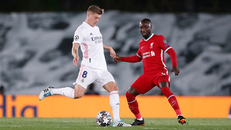 Vinicius Junior credits Madrid 'legend' Toni Kroos after Real beat Liverpool - Bóng Đá