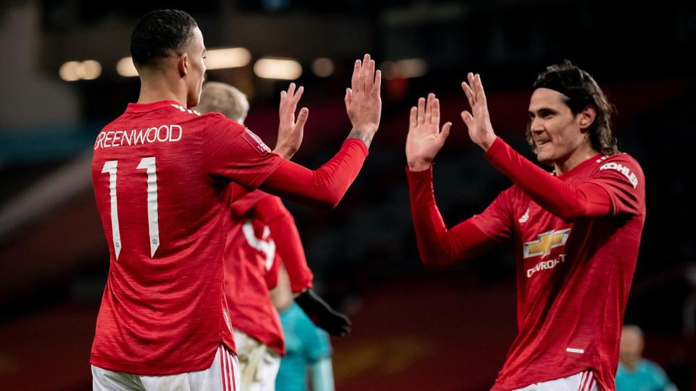 What Edinson Cavani told Mason Greenwood two minutes before brilliant Man Utd goal - Bóng Đá
