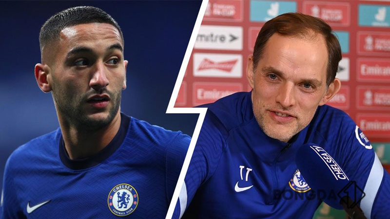 Chelsea star Hakim Ziyech lifts lid on Thomas Tuchel methods following Frank Lampard axe - Bóng Đá