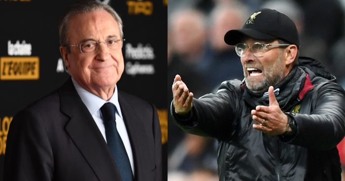 Florentino Perez trolls Liverpool and Jurgen Klopp over Real Madrid Champions League loss - Bóng Đá