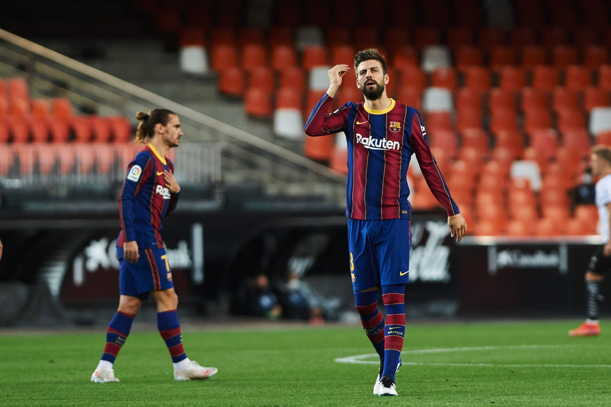 """Gerard Pique speaks following Valencia victory: """"We have to win against Atletico in any case"""" - Bóng Đá"""