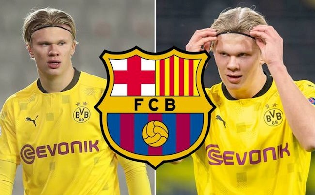 Barcelona make first Erling Haaland bid which is already more than Real Madrid will offer - Bóng Đá