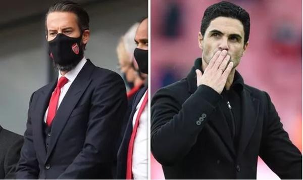 Arsenal chief Josh Kroenke sends assurance to Mikel Arteta after rare Emirates appearance - Bóng Đá