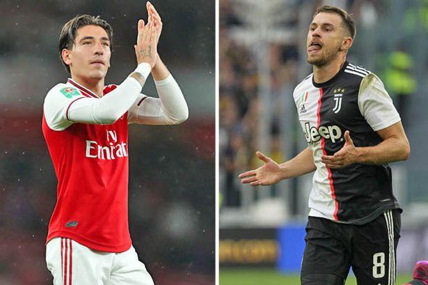 Juventus open talks with Arsenal over Bellerin-Ramsey swap - Bóng Đá