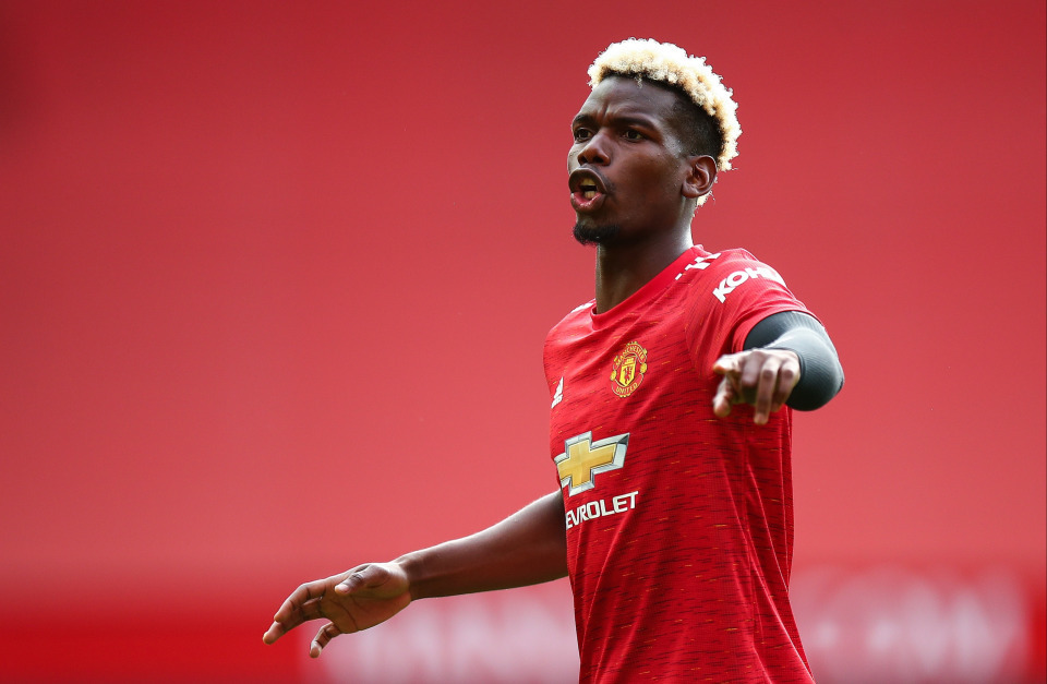Paul Pogba provides update on Manchester United contract situation - Bóng Đá