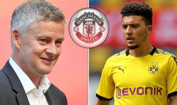 Manchester United boss Ole Gunnar Solskjaer personally intervenes over Jadon Sancho deal - Bóng Đá