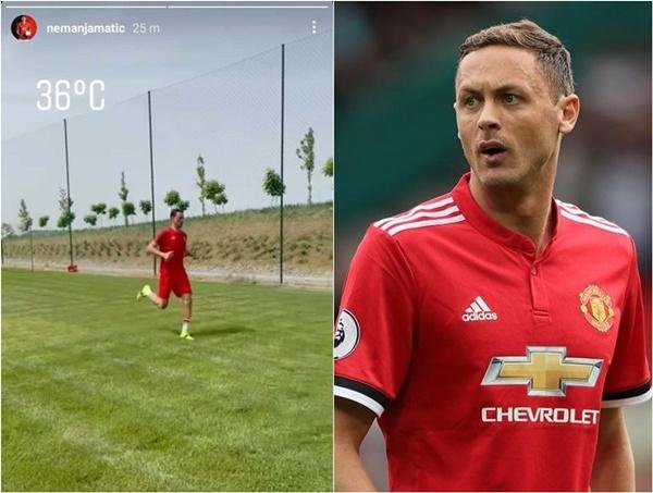 Nemanja Matic training to return to Manchester United in top shape - Bóng Đá