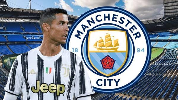 Ronaldo gia nhập Man City - Bóng Đá