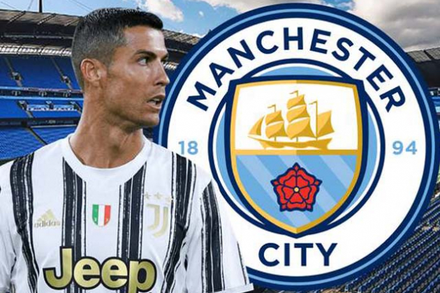 Juventus would be 'delighted' to sell Man Utd legend Cristiano Ronaldo to Man City - Bóng Đá