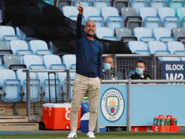 Pep Guardiola 'incredibly happy' with his Manchester City squad - Bóng Đá